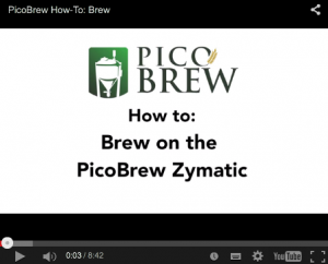 How to Brew with PicoBrew Zymatic
