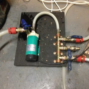 New pump manifold
