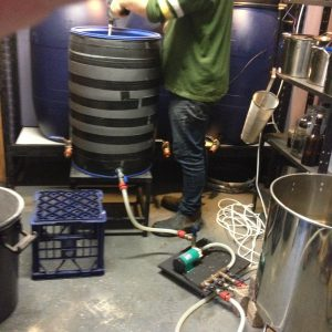Insulated mash tun